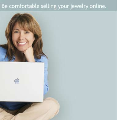 Be comfortable selling your jewelry online